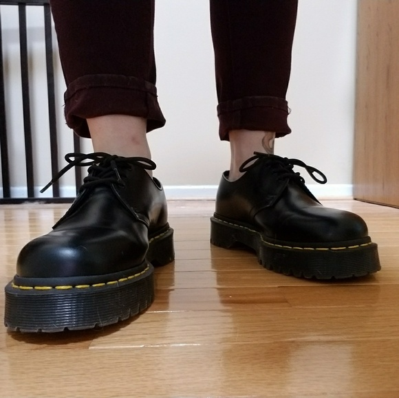 Image result for how to wear dr martens 1461 smooth | Doc
